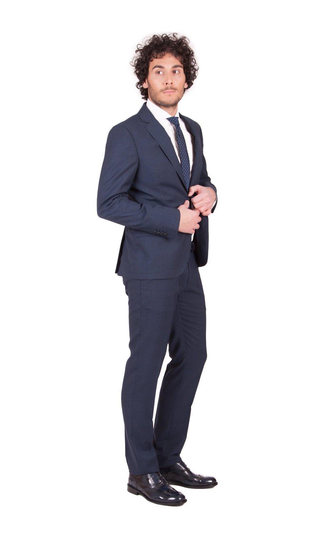 1489cd0dd511 Abito Trussardi Jeans da uomo blu scuro 52H59XX - dursoboutique.com