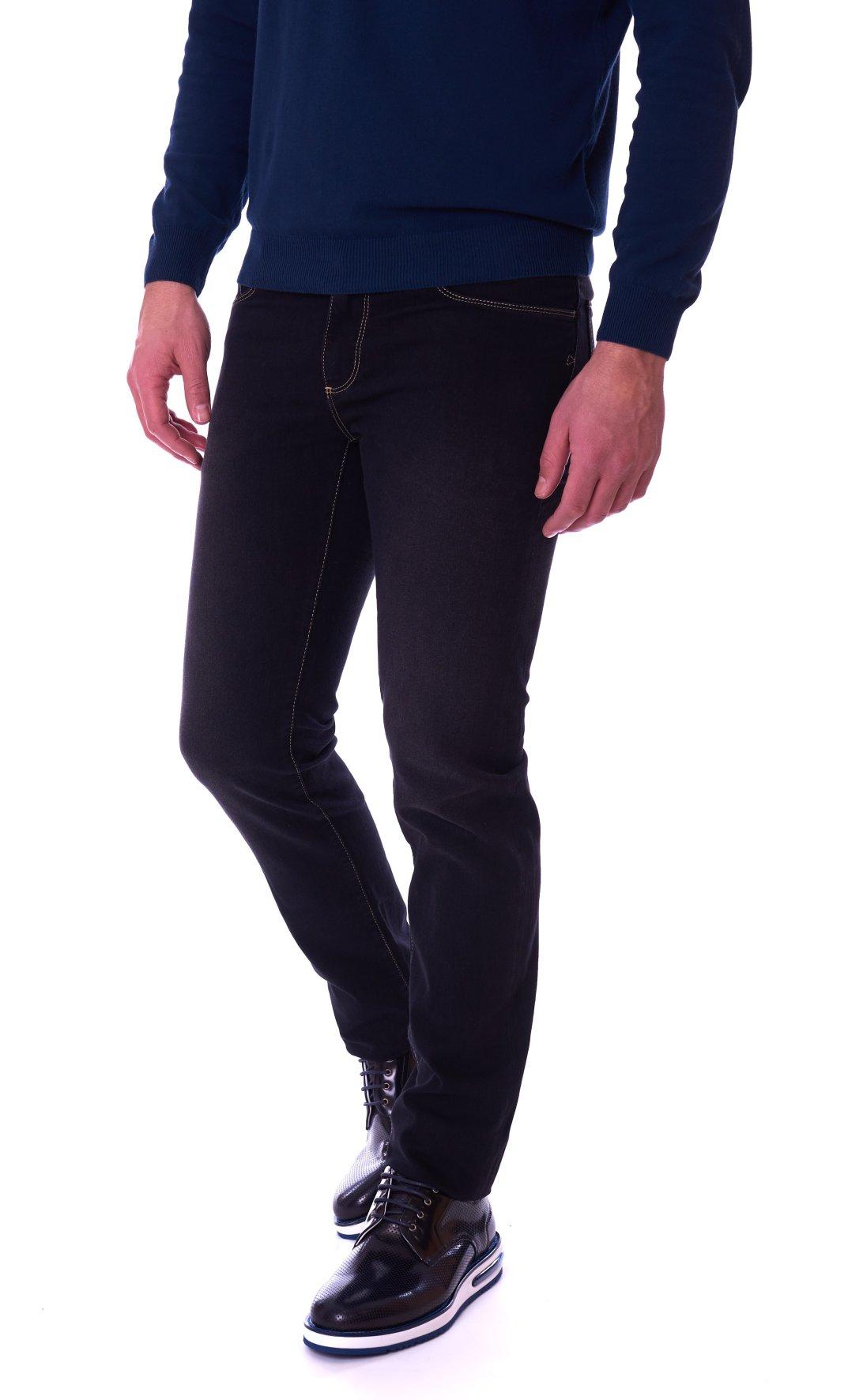 Jeans 380 Uomo Icon 1t000702 Nero 52j00001 Da Trussardi qj54LR3A