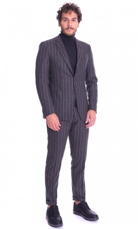 STRIPED SUIT BERNESE MILANO DROP 7