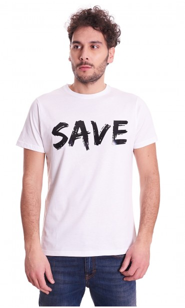 SAVE THE DUCK T-SHIRT WITH LOGO