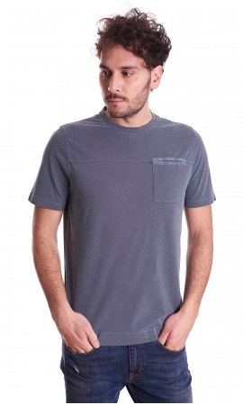 PIQUET T-SHIRT HERITAGE WITH POCKET