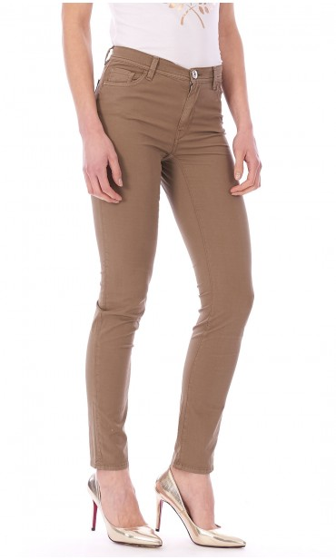 TRUSSARDI JEANS 105 SKINNY PANTS WITH STRASS